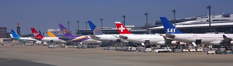 Airplanes on Stand